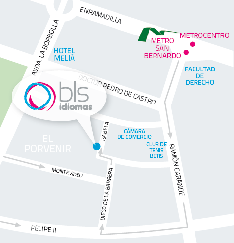 Mapa BLS idiomas