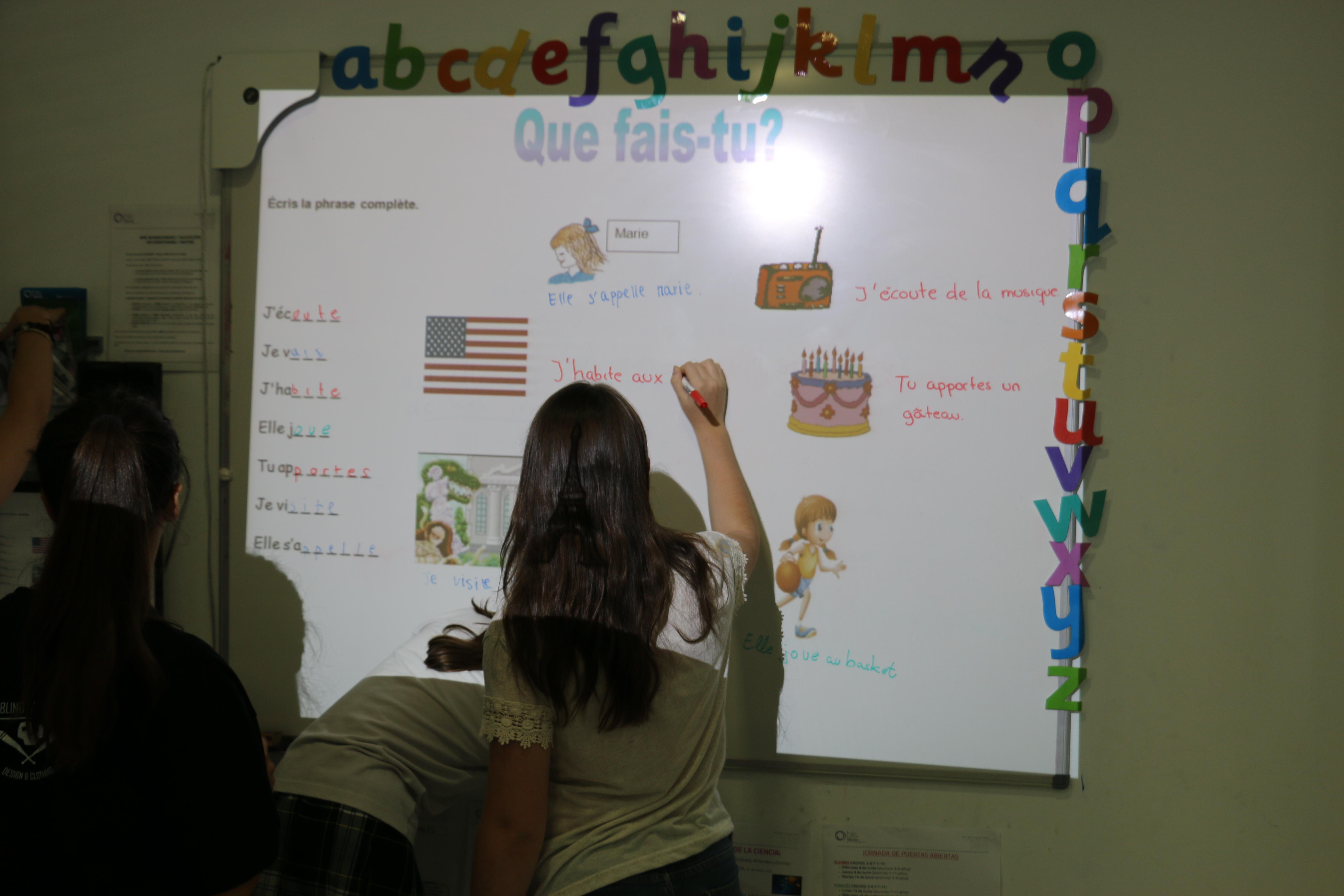 Curso de francés niños y jóvenes