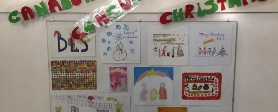 Concurso navideño de christmas en BLS idiomas